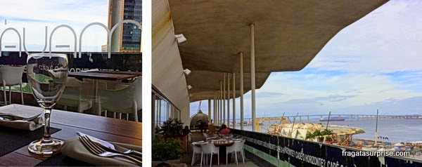 Restaurante Mauá, no terraço do MAR- Museu de Arte do Rio