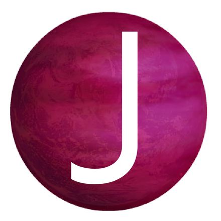Jive in the [415] updated transparent Logo with letter J on a queer world.