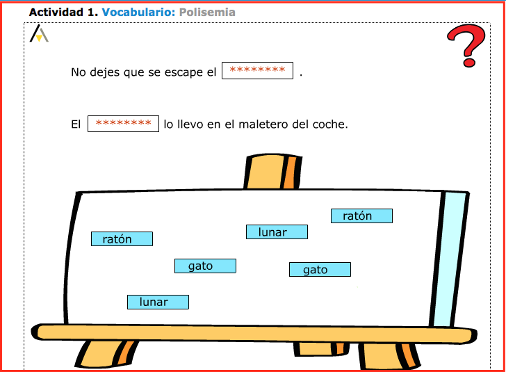 Palabras polisémicas 2