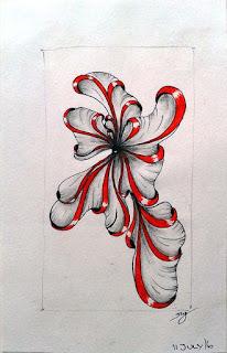 DIVA Challenge #322 with Patterns: Aquafleur a la Helen Williams