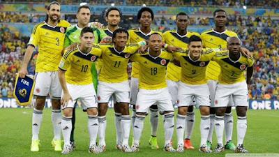 Daftar Skuad Pemain Timnas Kolombia 2016