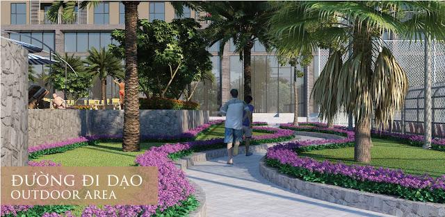 Đường dạo bộ dự án Eco Dream