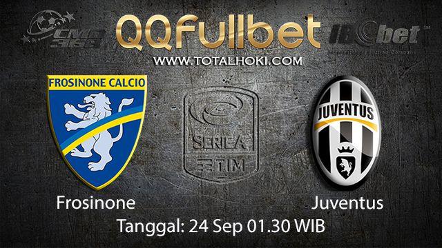 Prediksi Bola Jitu Frosinone vs Juventus 24 September 2018 ( Italian Serie A )
