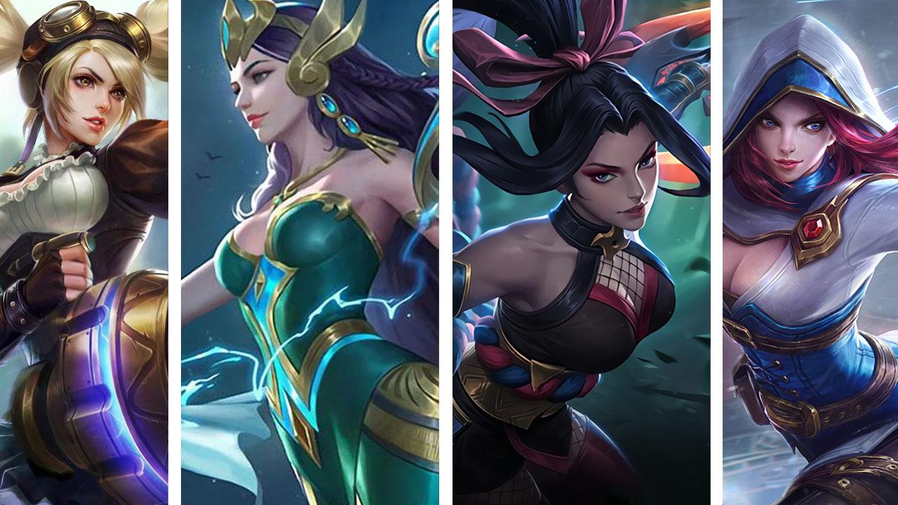 mobile legends hot female heroes