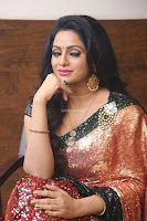 Udaya Bhanu lookssizzling in a Saree Choli at Gautam Nanda music launchi ~ Exclusive Celebrities Galleries 015.JPG