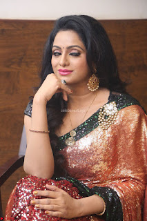 Udaya Bhanu lookssizzling in a Saree Choli at Gautam Nanda music launchi ~ Exclusive Celebrities Galleries 015.JPG