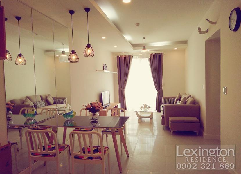 Cho thuê căn hộ Lexington Quận 2 diện tích 75m2 - hình 2