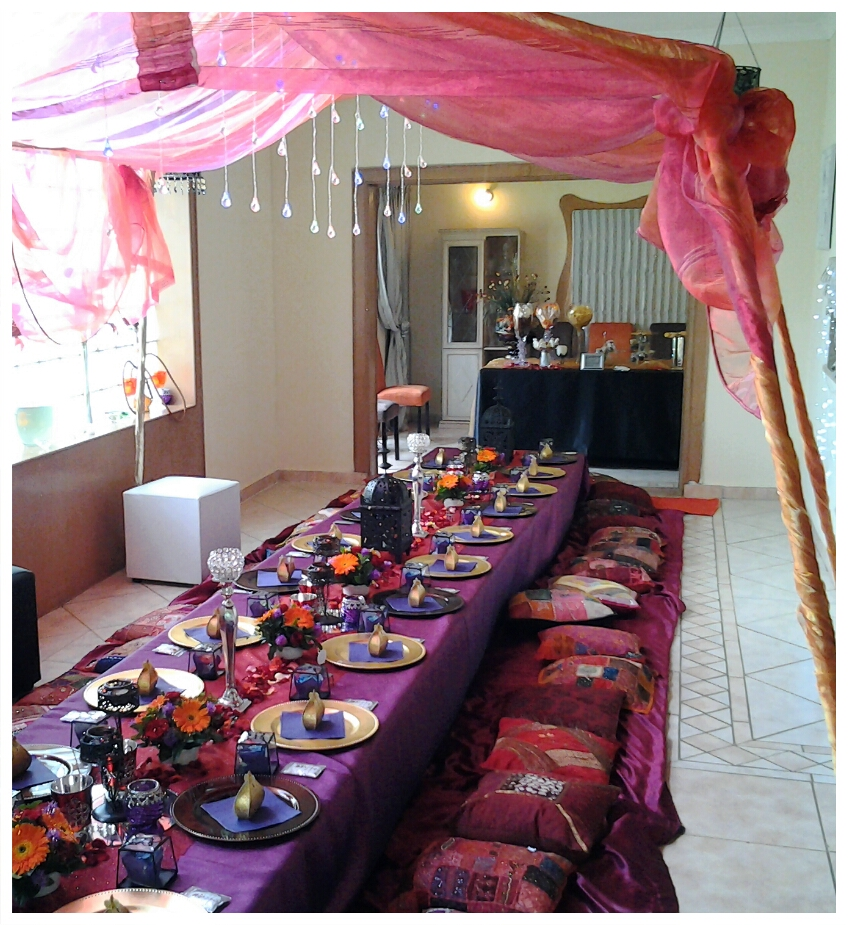 Venue And Halaal Catering For All Functions: Moroccan