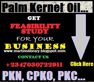 PALM KERNE MILL BUSINESS PLAN - CLICK HERE