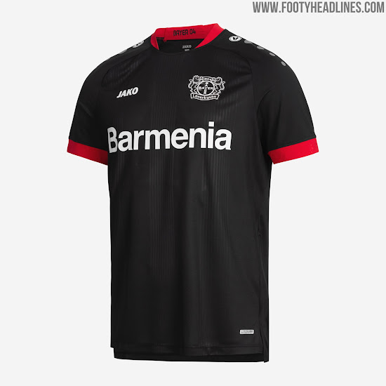 Nueva camiseta local Bayer 04 Leverkusen