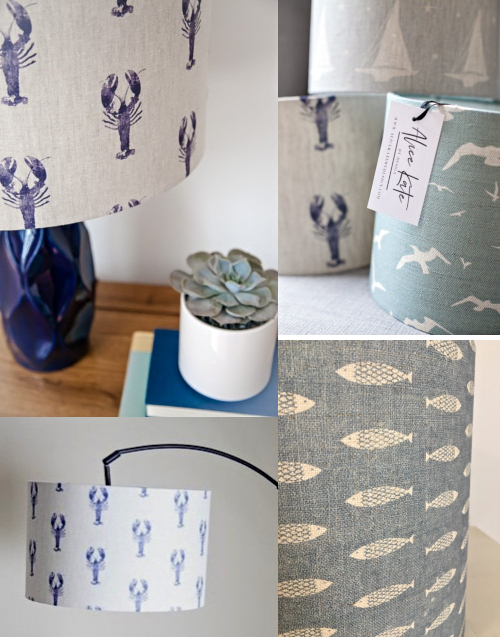 Handmade Nautical Lampshades