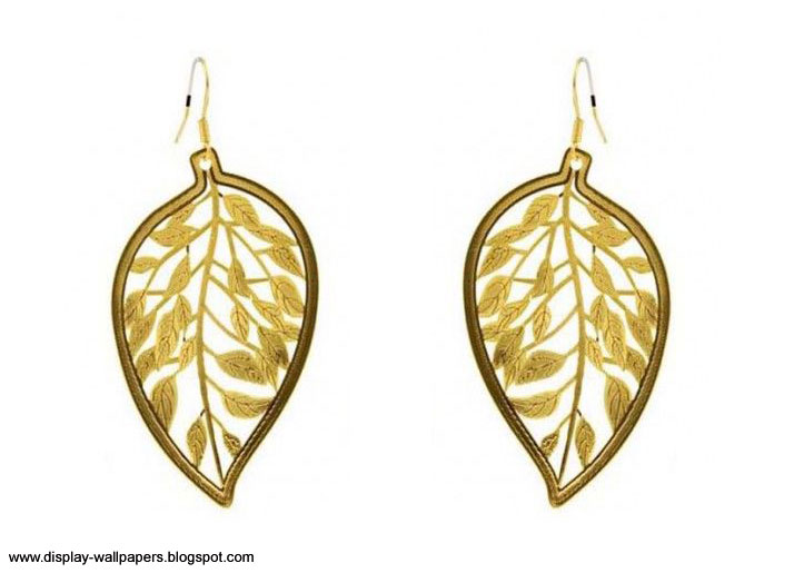 Pure Gold Earrings Designs For Girls   Download Wallpaper ...