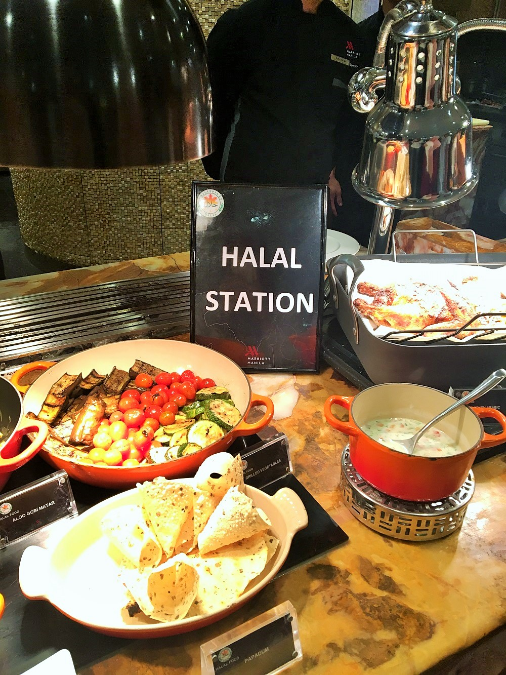 halal foods, halal tourism in the Philippines, Marriott Hotel Manila