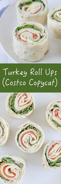 Turkey Roll Ups (Costco Copycat)