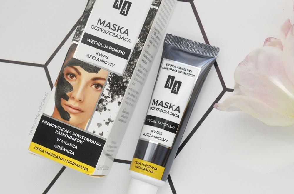 O masce oczyszczającej AA z węglem japońskim i kwasem azelainowym oraz o wpadce przy zakupach innej maski tej marki...