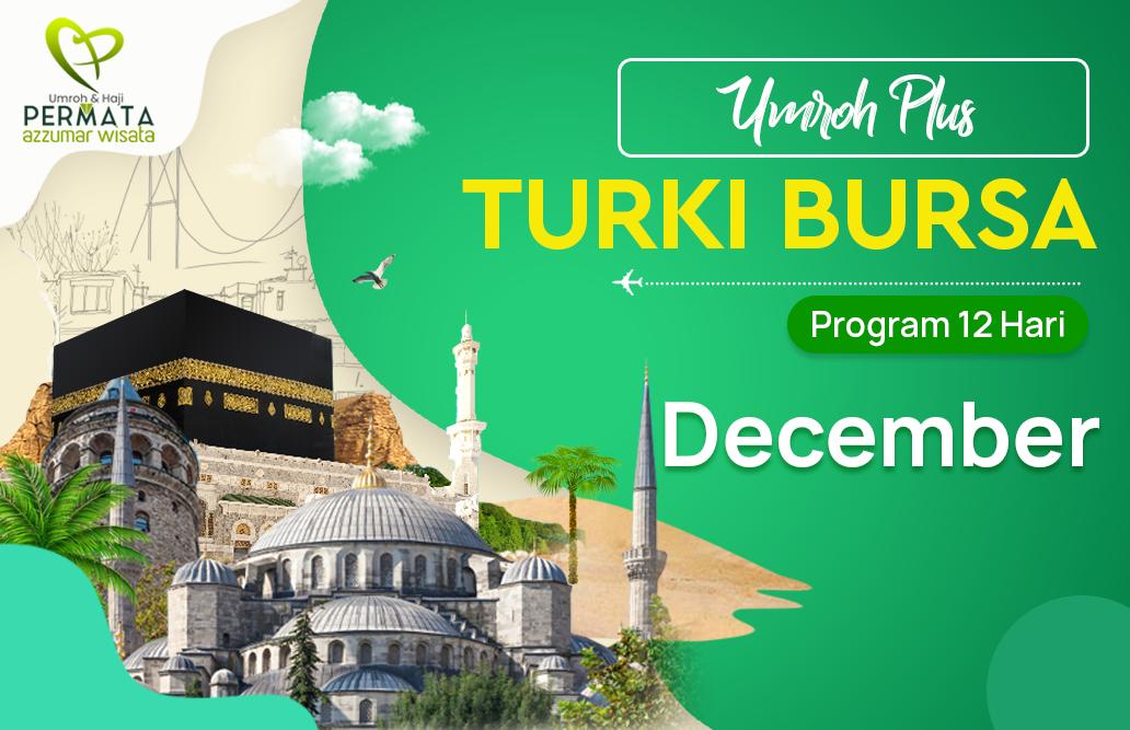 Promo Paket Umroh plus turki Biaya Murah Jadwal Bulan December 2020