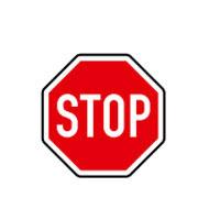 Движение без остановки запрещено. Уступить дорогу