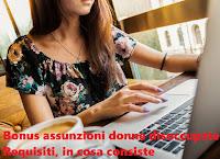 Agevolazioni per donne disoccupate: requisiti, funzionamento