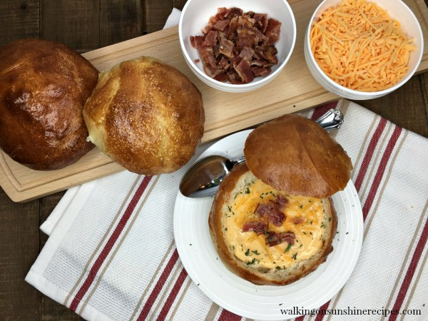 Bread Bowls for Soup - Easy Recipe