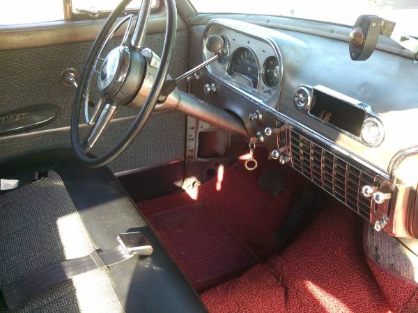 1954 Packard Cavalier Interior