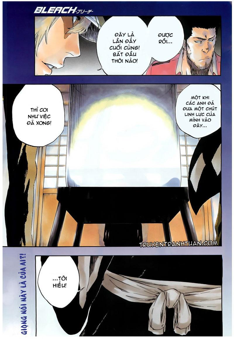 Bleach chapter 449 trang 1