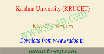 KRUCET Results 2020-2021 rank card download @krudoa.in