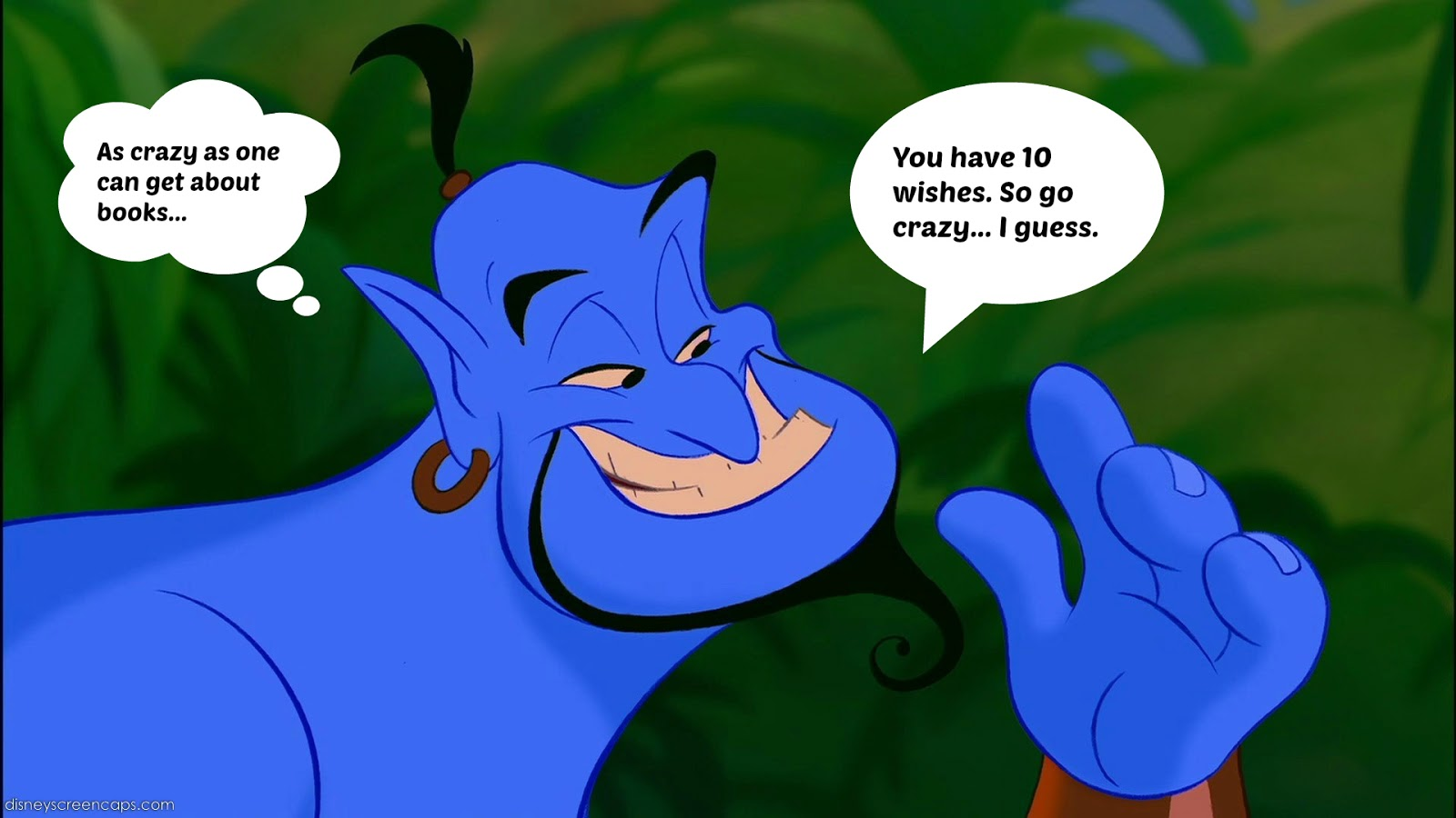 Real Genie Grants Wishes