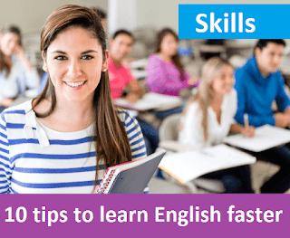 ten tips to learn English