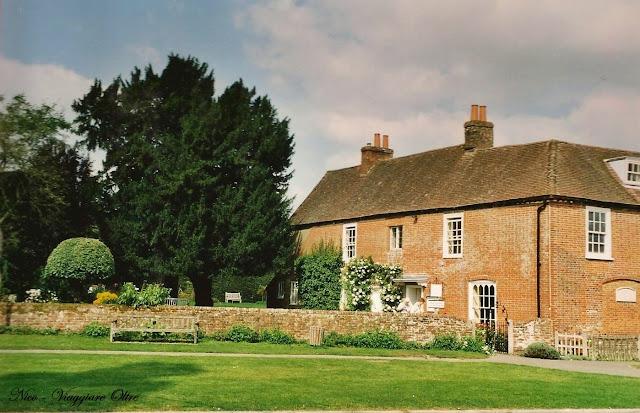 la casa di Jane Austen a Chawton
