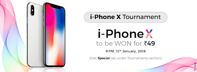 Win i-Phone X for free
