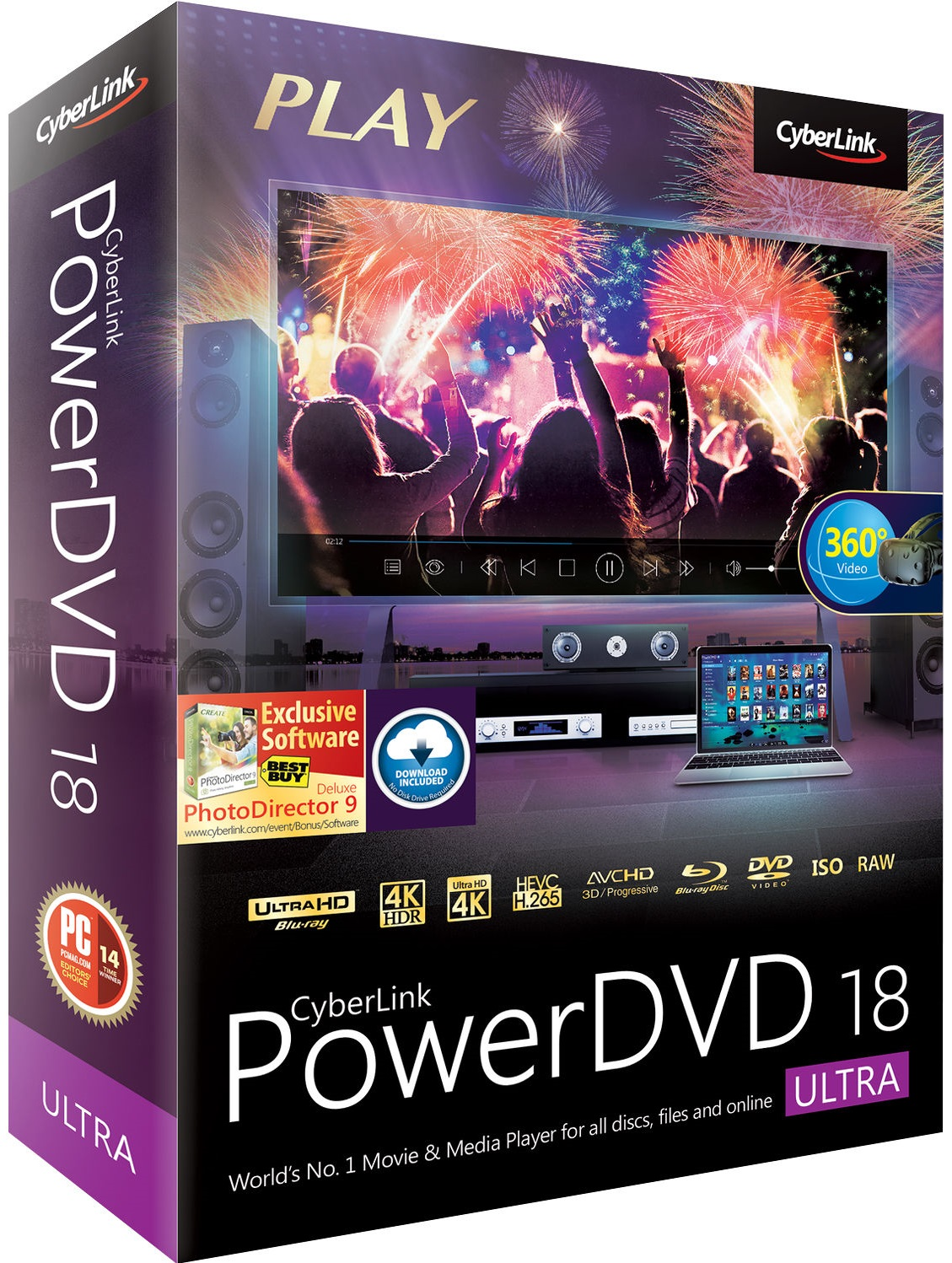 Descargar CyberLink PowerDVD 18 Ultra Full ESPAÑOL MEGA