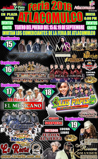 programa feria atlacomulco 2016