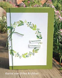 Geburtstagskarte Stampin up demonstratorin in coburg handgemacht handgestempelt bestellen