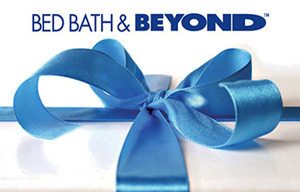 $200 Bed Bath & Beyond Gift Card Sweepstakes