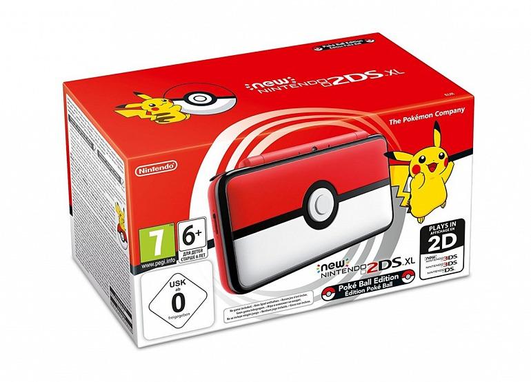 La Nintendo 2DS XL de Pokémon tendrá un botón en la Pokéball