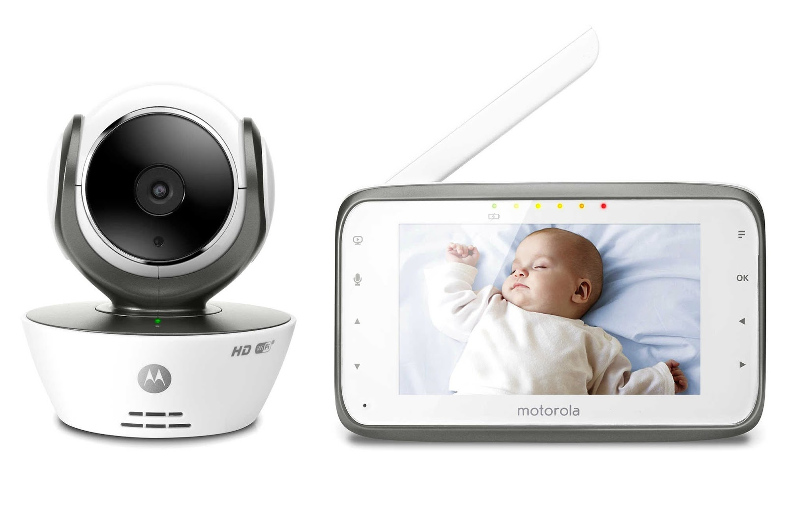 Lunchbox Dad: Does This Motorola Baby Monitor Help You Spy