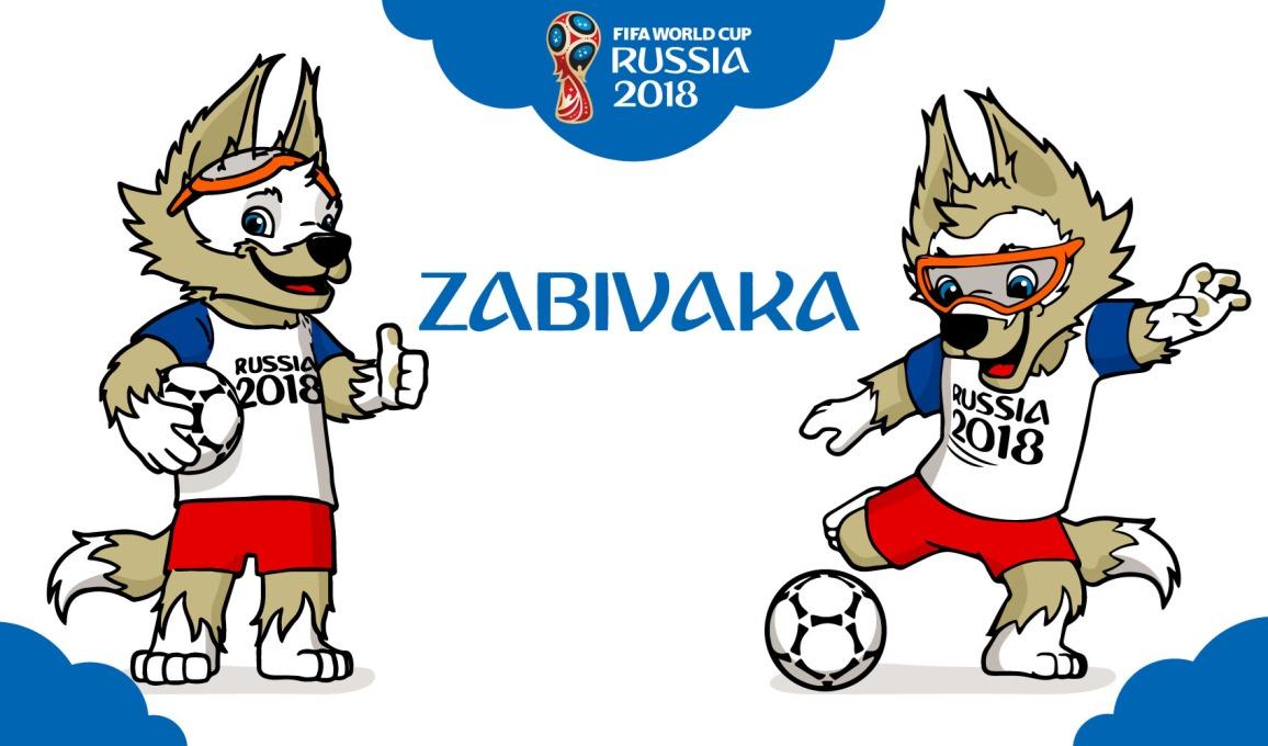 Maskot Resmi Piala Dunia FIFA 2018 Rusia - Zabivaka