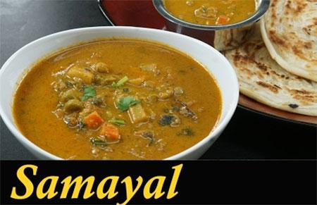 Veg Salna Recipe in Tamil | Vegetable Salna for parotta in Tamil | Vegetable kurma Hotel Style