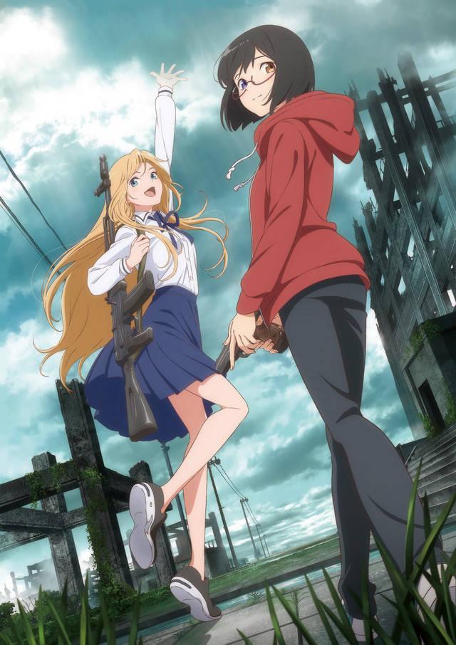 Plakat anime Ura Sekai Picnic