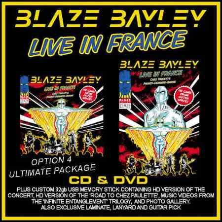 BLAZE BAYLEY: Live album τον Μάιο