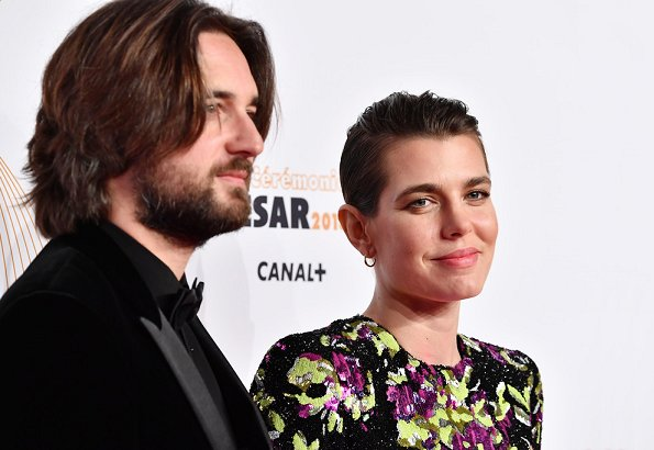 Charlotte Casiraghi and her film producer boyfriend Dimitri Rassam attended 43rd Cesar Film Awards ceremony held at Pleyel Concert Hall in Paris