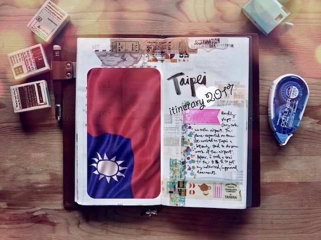 My example of Taipei itinerary back to 2017~