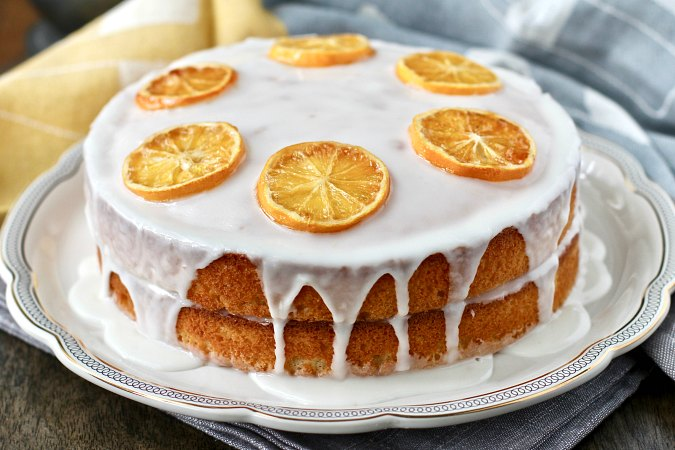 Two layer Madeira cake recipe
