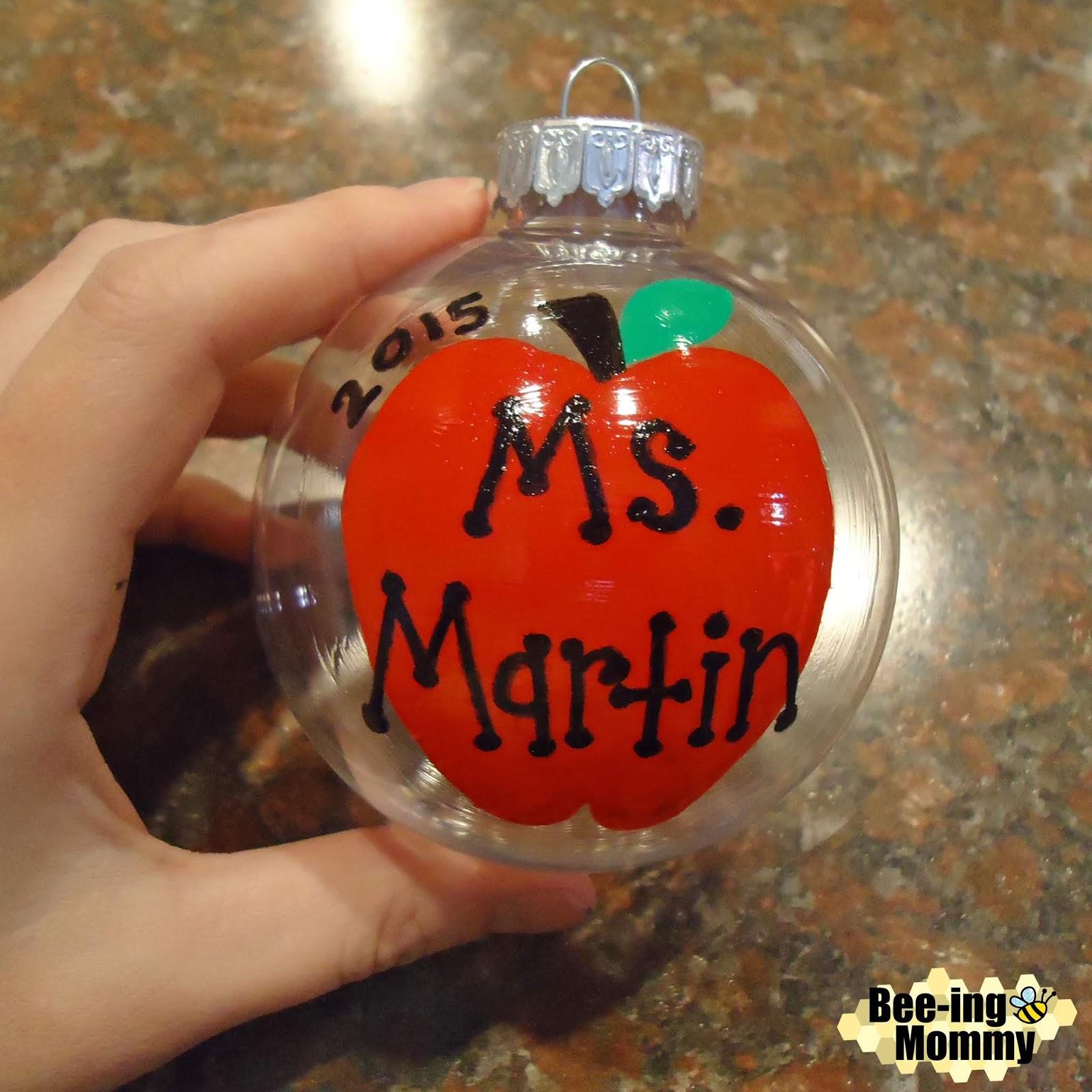 teacher ornament tutorial teacher ornament teacher gift teacher christmas gift teacher ornament