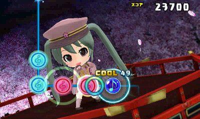 Hatsune Miku: Project Mirai DX 3DS screenshot 1