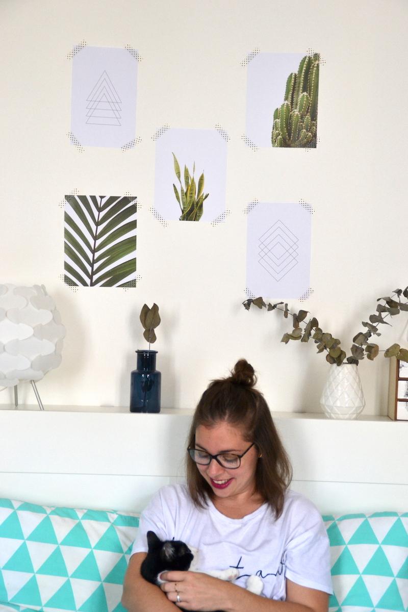 affiches cactus et minimaliste lusha prints