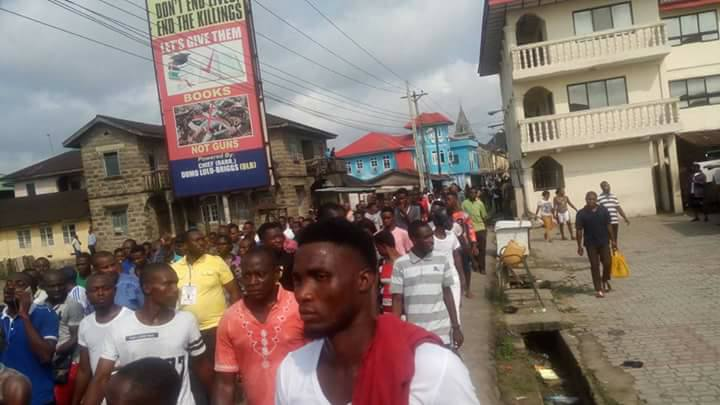 PDP Supporters & Asari Dokubo Take To The Streets To Celebrate Their Victory