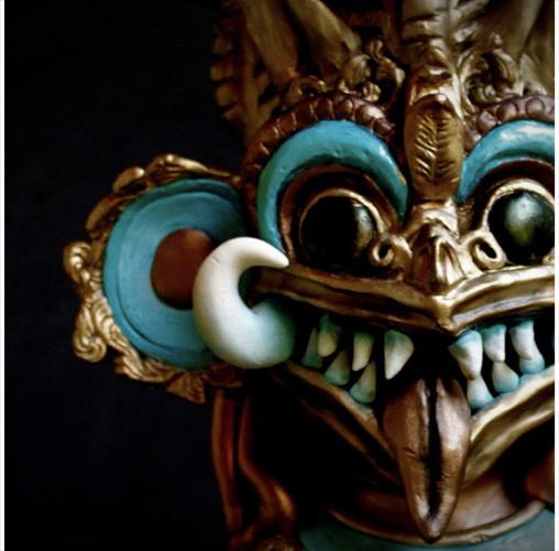 Masque de Démon Sri Lankais - Bryan Salazar Rojas de Cake Revolution