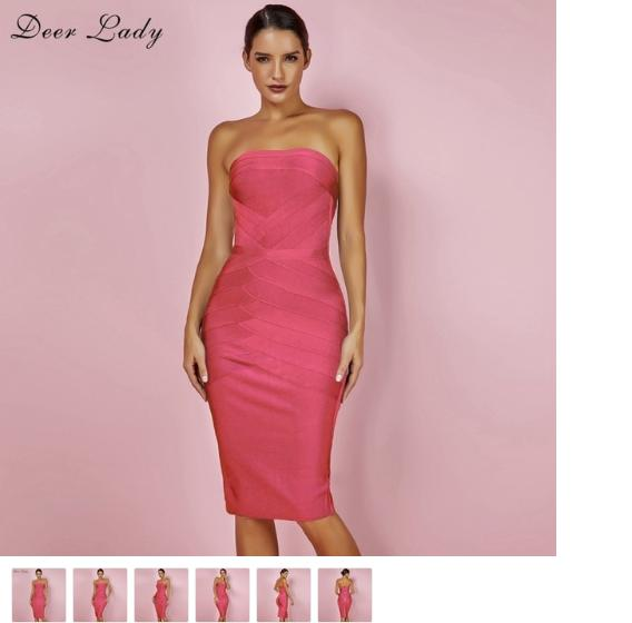 English Fashion Shop Online - Coral And Mint Green Dresses - Designer Clothes For Less Online