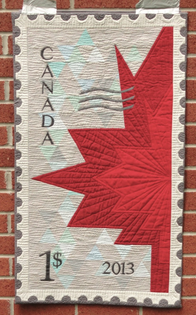 Quilt Matters Happy Canada Day Eh